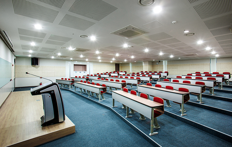 Seminar room at YBM Academy