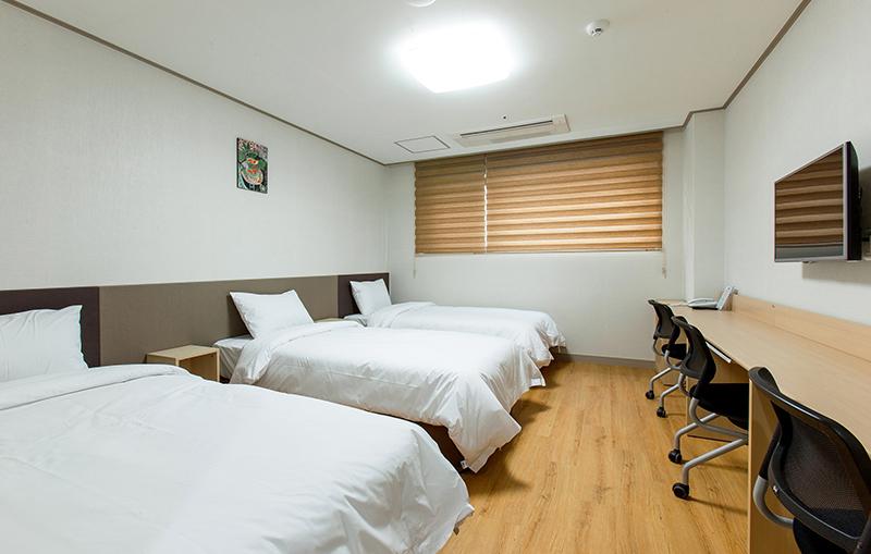 YBMアカデミーの標準的な宿泊施設