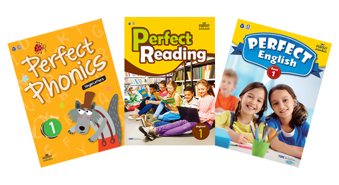 English study book Perfect English series for elementary school students
