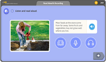 Various study activities of YBM Readers