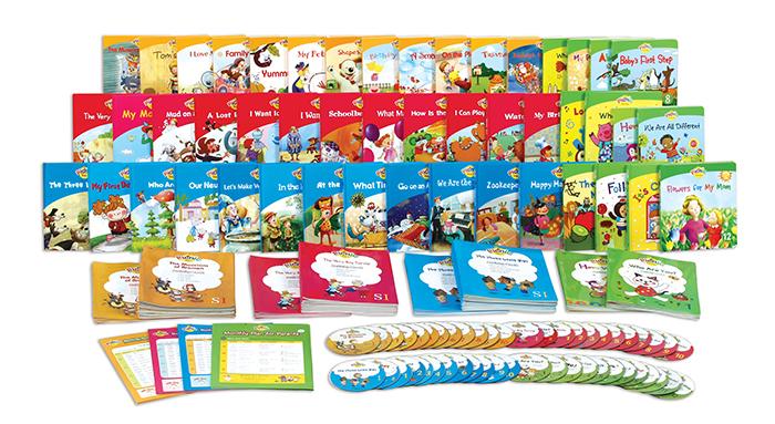 为学龄前儿童准备的英语学习书籍野餐系列